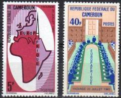 """Cameroun YT 401 & 402 """" Europafrique """" 1965 Neuf** - Cameroun (1960-...)"""