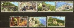 Gibraltar 2017 Micheln° 1819-1825 *** MNH Upper Rock Nature Reserve - Gibraltar