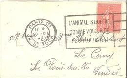 Semeuse 50c   -   Paris 111   30.12.1931 - Storia Postale