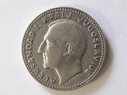 Yougoslavie 20 Dinara Alexandar 1er 1931 Argent Silver - Joegoslavië