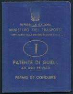 °°° PATENTE DI GUIDA CON FOTO DI ALBANO LAZIALE 1962 °°° - Italia