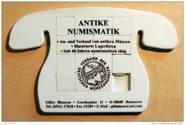 Taquin - Pousse Pousse - Antike Numismatik - Forme Téléphone - Allemagne - Acertijos