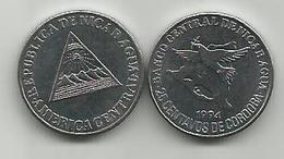 Nicaragua 25 Centavos 1994.  KM#82 High Grade - Nicaragua
