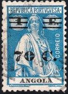 ANGOLA, COLONIA PORTOGHESE, PORTUGUESE COLONY, CERES, 70 C., 1931, USATO Mi. 231,  Scott 238,  YT 234, Afi 226 - Angola