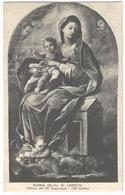 Maria SS Di Loreto Chiesa Dei PP Passionisti ITRI #Cartolina #Paesaggi #Santino - Latina