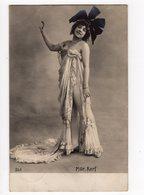 258 - Mlle. KERF - Comédienne - Chapeau Extravagant - Artistes