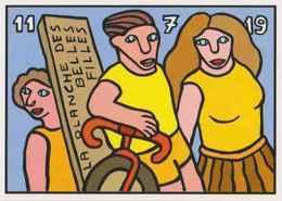 CPM ERGON - La Planche Des Belles Filles - Tour De France 2019 - Vélo - Cyclisme - Illustrateurs - Illustrateur - Ergon