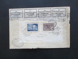Lettland R-Brief Daugavpils 1938 Block 1 Zensur / Zoll Der Wehrmacht Bahnpost Marienburg - Eydtkuhnen Bedarf!!! - Lettland