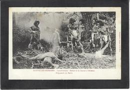 CPA Nouvelle Hébrides Polynésie Océanie Non Circulé Cannibalisme - Vanuatu