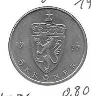 Noorwegen - 5 Kroner - 1977 - KM 420 - Norvège
