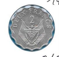 Rwanda - 2 Francs FAO - 1970 - KM 10 - Rwanda