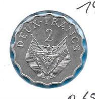 Rwanda - 2 Francs - 1970 FAO - KM 10 - Rwanda
