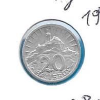 Slowakije - 20 Halierov - 1943 - KM 4a - Slovaquie
