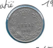 Joegoslavië - 1 Dinar - 1925 - KM 5 - Yugoslavia