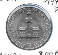 USA - Half Dollar - 1976D - KM 205 - Émissions Fédérales