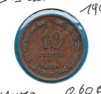 Israël - 10 Prutah - 1949 - KM 11 - Israel