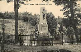 - Dpts Div.-ref-AH928- Yvelines - Gazeran - Le Monument Aux Morts - Monuments Aux Morts - Guerre 1914-18 - - France