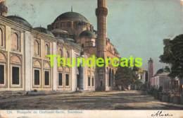 CPA EDIT. GEORGES PAPANTOINE CONSTANTINOPLE MOSQUEE DE CHAZADE BACHI STAMBOUL - Türkei