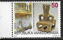 MACEDONIA, 2019, MNH,ARCHAEOLOGY, STATUES,1v - Archaeology