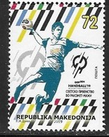 MACEDONIA, 2019, MNH,SPORTS, HANDBALL, 1v - Handball