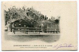 CPA - Carte Postale - Belgique - Quaregnon - Grotte De Notre Dame De Lourdes - 1904 (M8275) - Quaregnon
