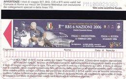 ROMA  /  A.T.A.C. _ Biglietto - Railway