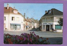 10 VILLENAUXE LA GRANDE  La Rue De La Gare Commerces Coiffeur Boulangerie Patisserie Bureau De Tabac - France