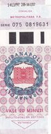NAPOLI  / Biglietto Giranapoli - Railway