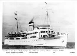 "MS ""Helgoland""   Seebäder Turbo Elektroschiff Archivphoto - Steamers"
