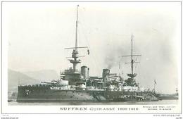 Bateau. N° 33817. Suffren. Cuirassé.   1899-1916 - Warships