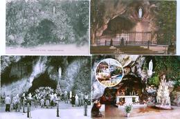 65 - LOURDES - 8 Cartes De La Grotte Miraculeuse Et Basilique - Lourdes