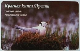 RUSSIA / USSR - Yakutsk - Yakutia - 50u - Pink Pigeon - Rhodostethia Rosea - Chip 23 - VF Used - Russie