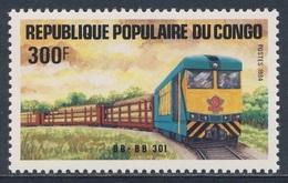 Congo Brazzaville 1984 Mi 965 YT 728 SG 956 ** Diesel Locomotive No. BB BB 301 / Lokomotive - Treinen