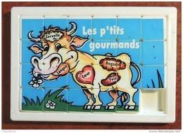 Taquin - Pousse Pousse - Les P'tits Gourmands - Vache - Bourbon - Casse-têtes