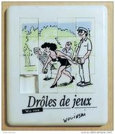 Taquin - Pousse Pousse - Bière Heineken - Série Drôles De Jeux - Illustrateur WOLINSKI - Pétanque - Brain Teasers, Brain Games
