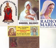 Lotto 5 Adesivi Religiosi Vari - Stickers