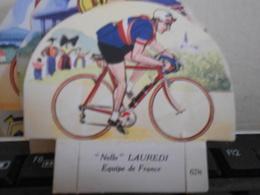 LA VACHE SERIEUSE LAUREDI CYCLISTE CYCLISME TOUR DE FRANCE VELO SPORT IMAGE CADEAU - Autres Collections