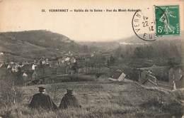 27 Vernon Vernonnet  Vallée De La Seine Vue Du Mont Roberge Cpa Carte Animée - Vernon