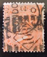 REINE VICTORIA 1865 - OBLITERE - YT 32 - OBLITERATIONS MULTIPLES - 1840-1901 (Victoria)