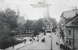 POLOGNE -   OPPELN - 1921 -  PARTIE AN DER KRAKAUER STRABE - Polen