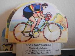 LA VACHE SERIEUSE VAN STEENBERGEN CYCLISTE CYCLISME TOUR DE FRANCE VELO SPORT IMAGE CADEAU - Autres Collections