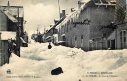Saint-Pierre Et Miquelon - St. Pierre - La Rue De L' Hôpital - A été Agraphée - Saint-Pierre-et-Miquelon