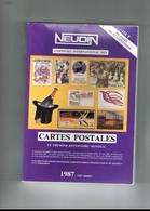 Lot De 4 Livres.  ARGUS CARTES POSTALES NEUDIN. 1979. 1984. 1987. 1988. - Books