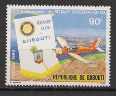 Djibouti - 1980 - N°Yv. 515 - Rotary Club - Neuf Luxe ** / MNH / Postfrisch - Rotary, Lions Club