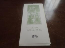 CALENDARIO LE VIE DELLA SETA 1970 - Calendari