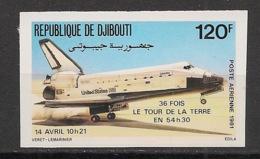 Djibouti - 1981 - PA N°Yv. 156 - Space Shuttle - Non Dentelé / Imperf. - Neuf Luxe ** / MNH / Postfrisch - Gibuti (1977-...)