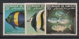 Djibouti - 1981 - N°Yv. 527 à 529 - Poissons / Fishes - Neuf Luxe ** / MNH / Postfrisch - Djibouti (1977-...)