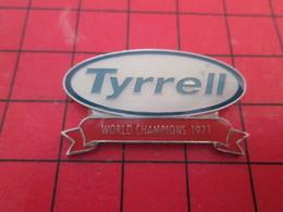 715B Pins Pin's  / Rare Et De Belle Qualité / THEME AUTOMOBILE : F1 FORMULE 1 TYRRELL WORLD CHAMPIONS 1971 - F1