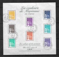 France Blocs Feuillet  De 2002 N°44 Oblitéré - Sheetlets