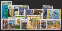 Djibouti - 1991 - N°Yv. 671 à 687 - Année Complète / Complete Year - Neuf Luxe ** / MNH / Postfrisch - Djibouti (1977-...)